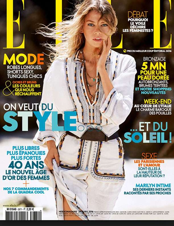 Elle May 2016-cover